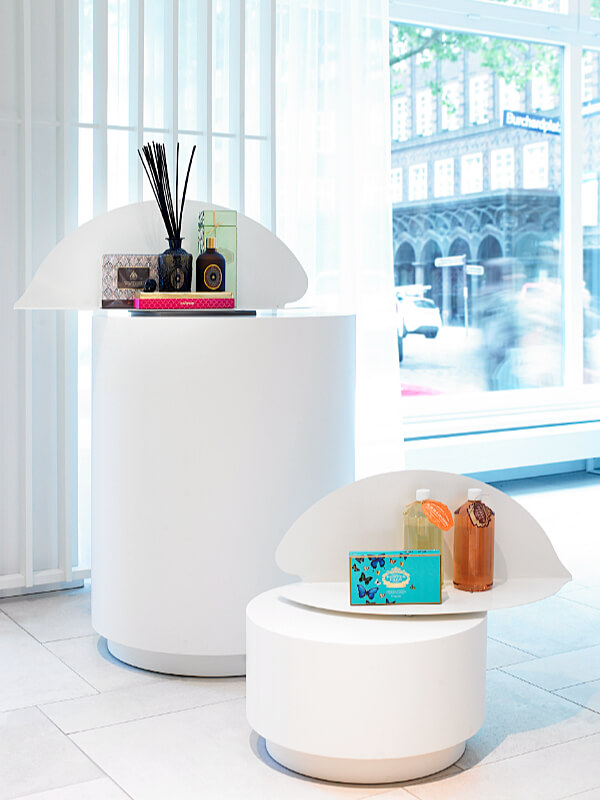 Mia Spa Display Stands